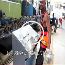 尼日利亚某公司一次订购7台冷切飞锯机