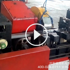 【定制设备】高铁槽道数控焊管切割机