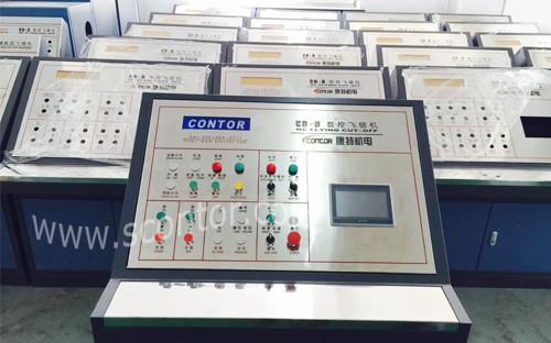 触摸屏飞锯控制系统